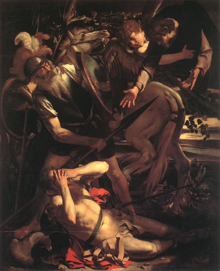 Caravaggio Conversion of St Paul