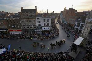 King Richard III Processsion